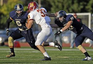 Jordan Halverson of Concordia St. Paul is a very good tackler that get's the job done