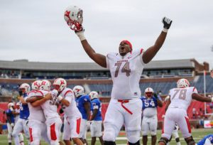 Rutgers University offensive lineman Keith Lumpkin will be on an NFL roster next year