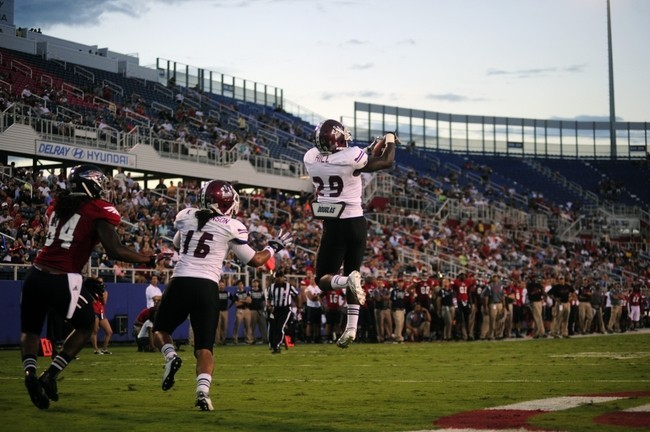 New Mexico State University defensive back Lewis Hill has turned into a very solid corner