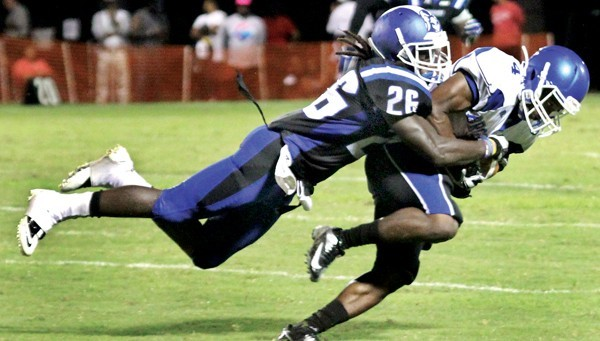 Chowan University CB Roderick Lindsey is a sound tackler with good instincts