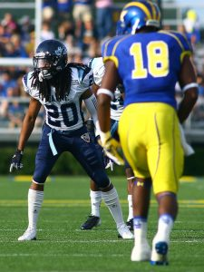 Maine cornerback Sherrod Baltimore is the real deal