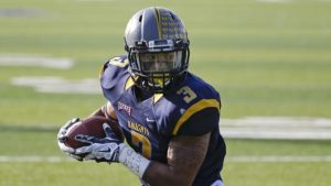 Marian receiver Anthony Jones Jr is a great player with great hands