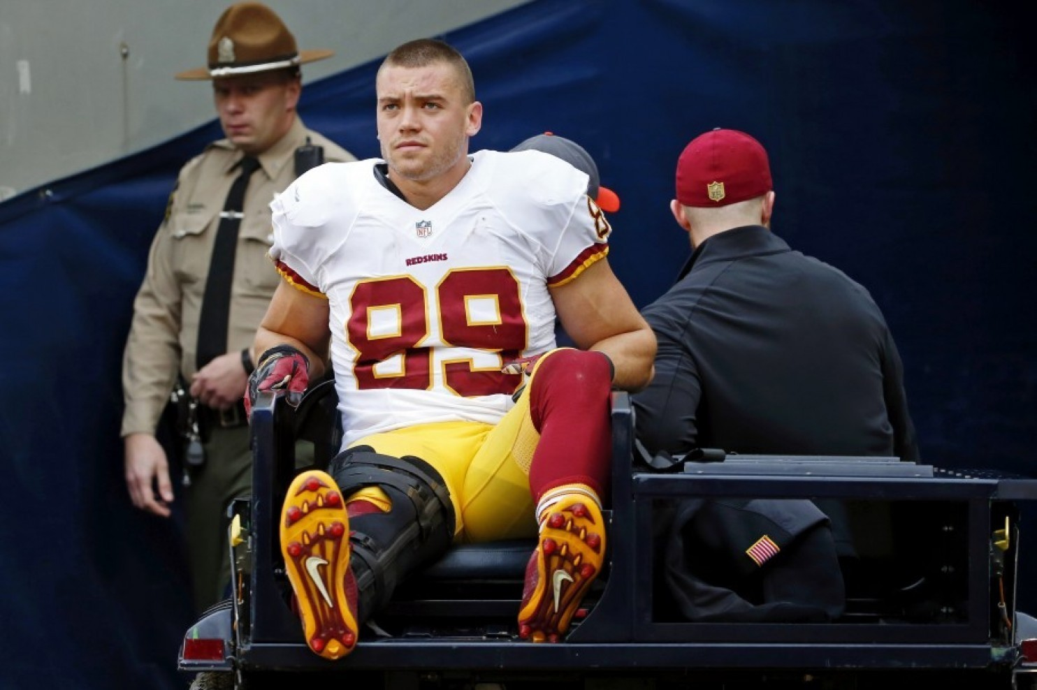 Redskins have lost TE Derek Carrier for the year with a torn ACL and MCL