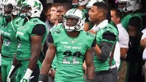 D.J. Hunter of Marshall should get a shot in the NFL. He has such an amazing motor!!