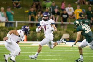 Northwestern State wide out Ed Eagan can do it all. He is a good returner and wide out