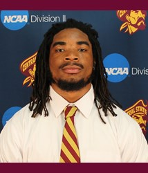Central State linebacker Gervell Morgan is a hard hitting linebacker