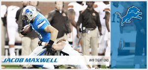 The Buffalo Bills have added Jacob Maxwell to their practice squad