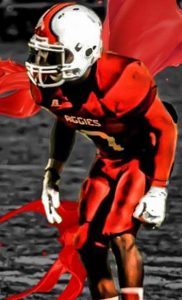 Jamel Major of OPSU is a feisty little corner who compares his play to Charles James!!! I like it!!!