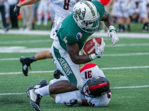 Andy Jones of Jacksonville University impressed NFL scouts this past weekend