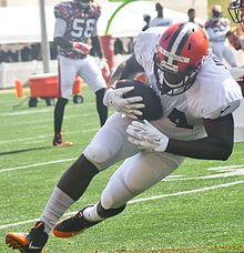 Browns place fullback Malcolm Johnson on injured reserve