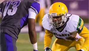 Belhaven University defensive back Martel Myers is a ballhawk with good instincts