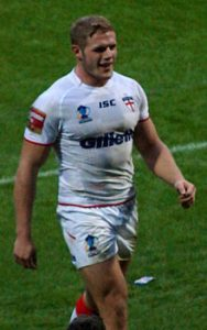 Rugby star Tom Burgess is trying to become an NFL player