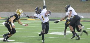 Grambling State University wide out Ka'Jandre Domino has big play capabilities