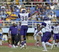 PVAMU defensive back Nick Brewer is a hard hitter with speed
