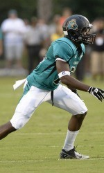 Datarius Allen of Coastal Carolina University is a good player with a huge heart