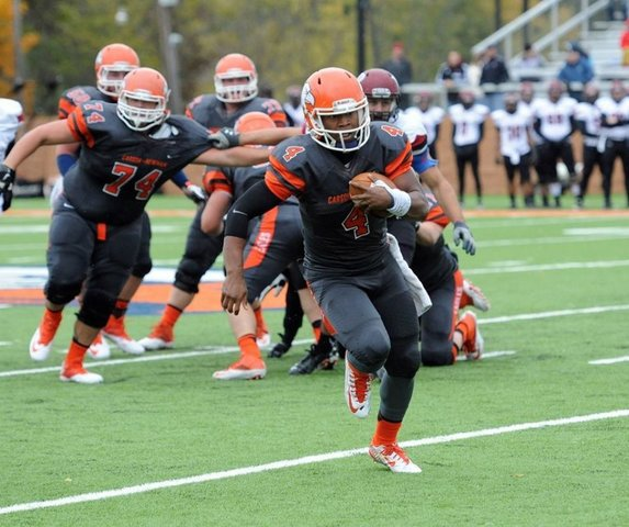 De'Andre Thomas is an athletic quarterback with quick feet and good arm strength