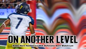 Northern Arizona safety Eddie Horn is a pretty solid defensive back with great ball skills
