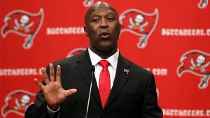Lovie Smith has been fired in Tampa
