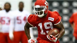 Jeremy Maclin of the Chiefs learned he did not tear his ACL